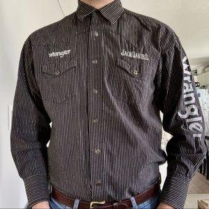 Wrangler Jack Daniels Cowboy Shirt